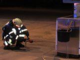 Feuerwehreinsatz: </br>Rauchentwicklung an einer Zapfsäule