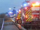 Verkehrsunfall mit 2 verletzten Personen auf der Autobahn