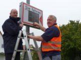 Stadt Schwetzingen hat zwei neue Temposys-Geräte angeschafft