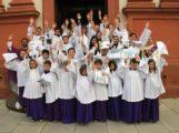 Ministranten-Aufnahme in der katholischen Kirche St. Pankratius Schwetzingen
