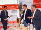 Rainer Zietsch sorgt für interessante Gruppen beim SparkassenCup 2017