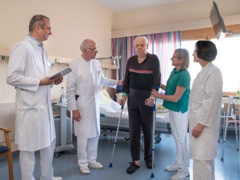 Alterstraumatologie für betagte Patienten der Orthopädie und Unfallchirurgie