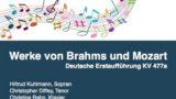 Serenade mit Werken von Brahms und Mozart