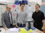 HGS: Daniel Schiller bei Physikolympiade, Mathe-Woche und Tag der Talente dabei