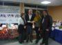 Helmut Mehrer beim Weihnachtsmarkt in Ormesson