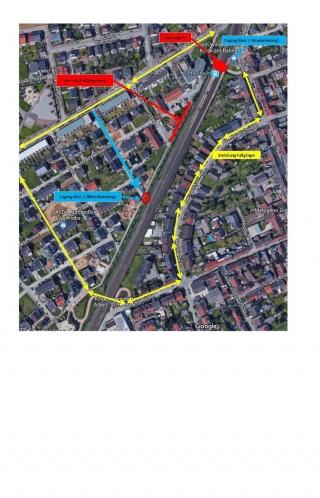 OFT: Aktuelle Informationen zum Bahnhofsumbau